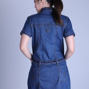 Jeans Dress (Short-Sleeve)
