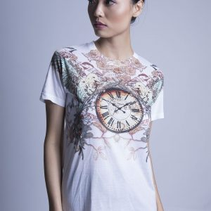 Clock Printed Shirt