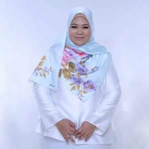 Wardiya Shawl (Blue)